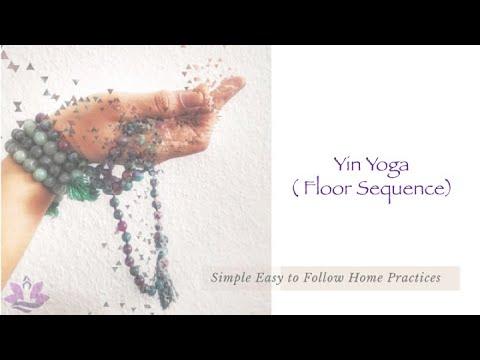 yin yoga  floor sequence  youtube