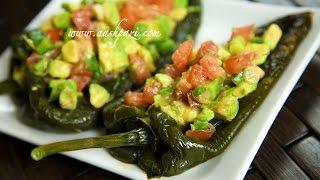 Stuffed Poblano Pepper (healthy) Recipe