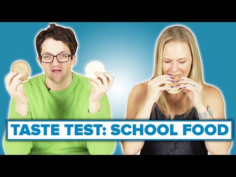 Teachers Eat School Lunches