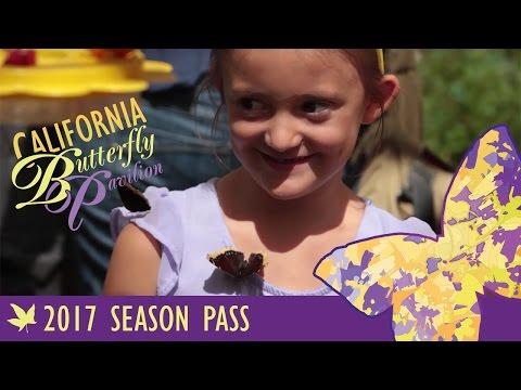 California Butterfly Pavilion Season Pass