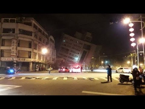 Earthquake shakes Taiwan: Dozens Reported Trapped in Hotel Collapse