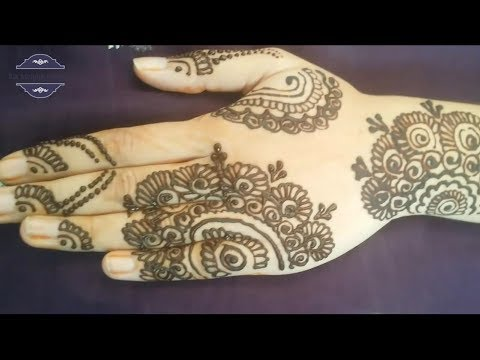 Stylish and Fancy Arabic Mehndi Design for Hands - Best Mehndi Design of 2017