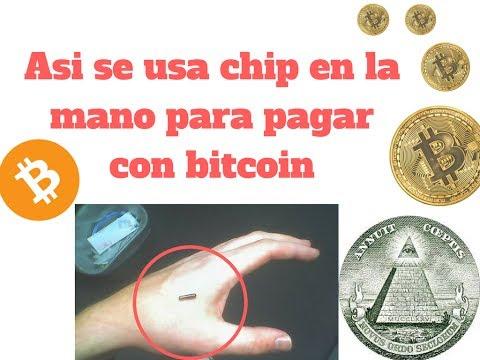 Chip implantado para realizar pagos con Bitcoin