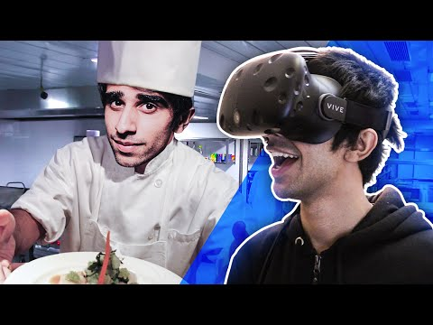 IM A CHEF! - VIRTUAL REALITY on HTC VIVE - (Job Simulator Gameplay)