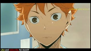 Hinata Shoyo's Scary Eyes and Face Compilation | Haikyu season 1-4