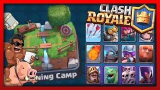 "Clash Royale - Training Camp MADNESS! ""Crazy Tight Battles"" W/TheGameHuntah!"