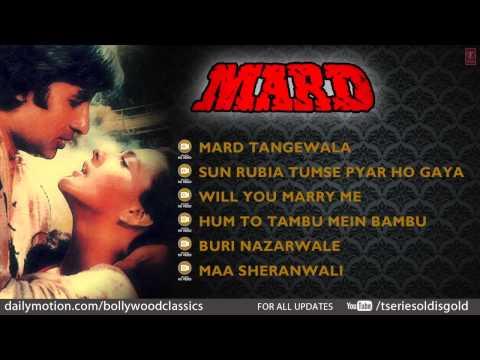 Mard Movie Full Song | Amitabh Bachchan, Amrita Singh | Jukebox