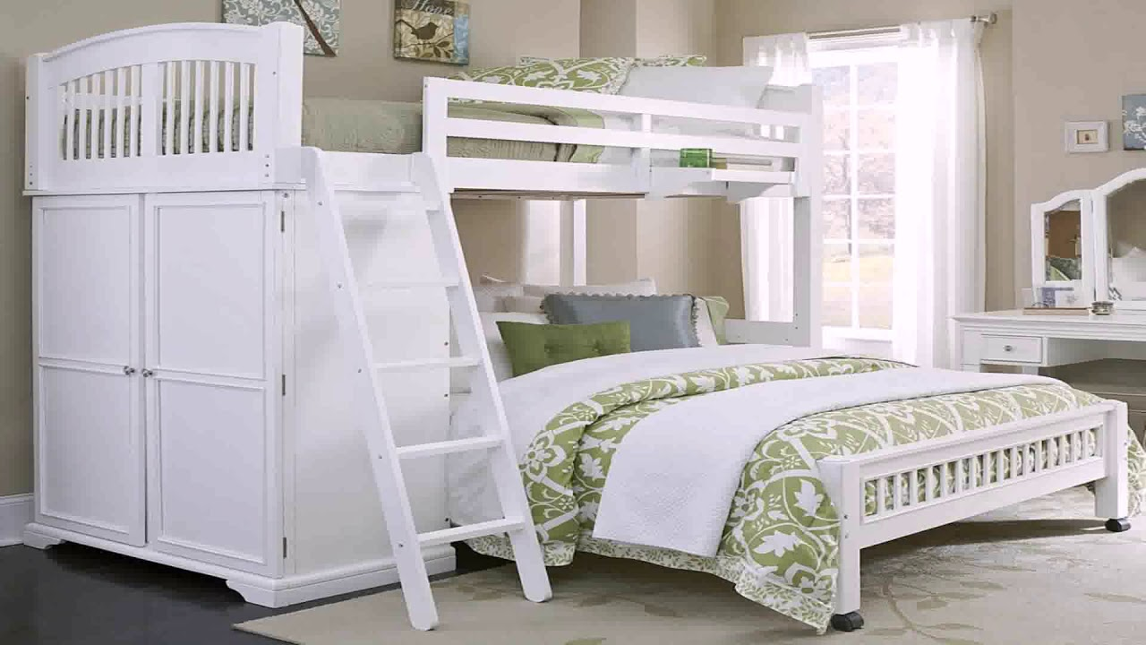 Twin Xl Over Queen Bunk Bed Plans Youtube