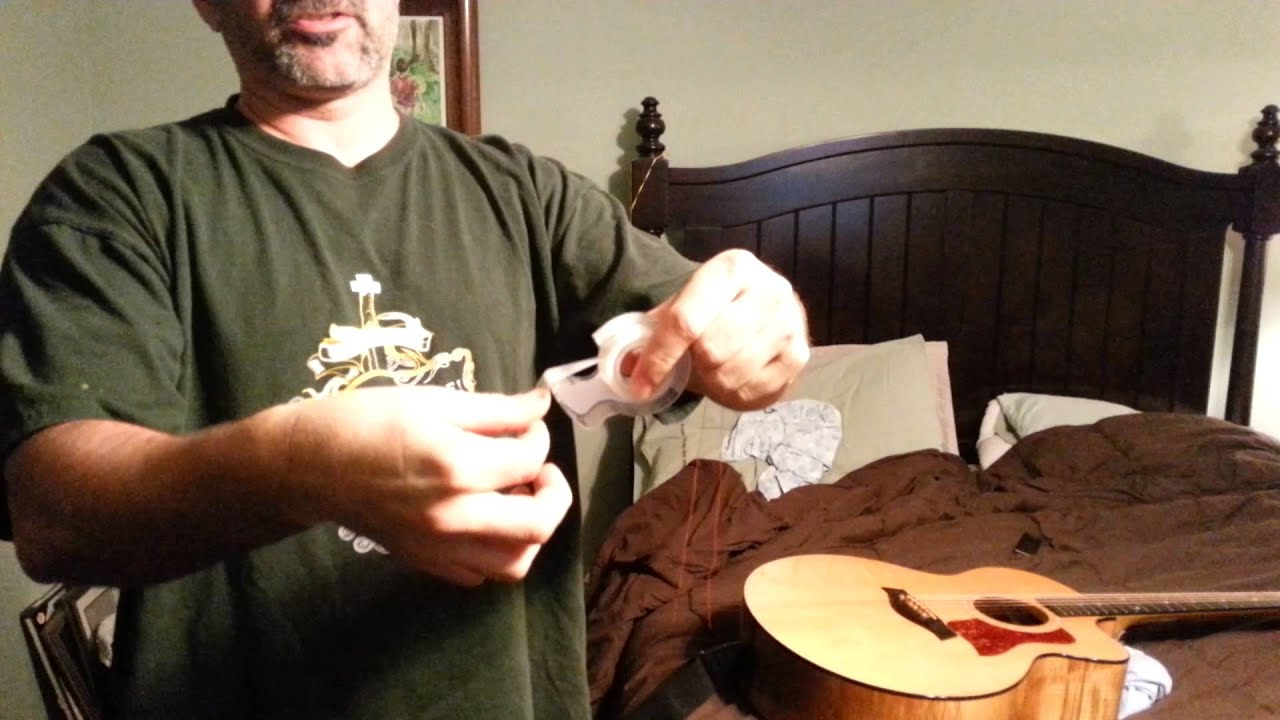 Taylor Expression System W Aa Battery Quick Fix Youtube Acoustic Guitar Jack Wiring Diagram