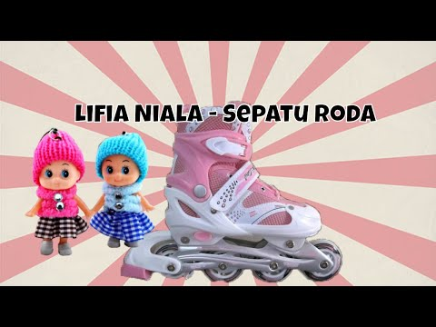 Unboxing Inline Skates - Children Playing in the park with Roller Skates Inline Skate Sepatu Roda