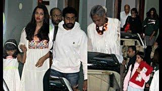 Amitabh Bachchan 75th Birthday - Aishwarya, Aaradhya, Jaya, Navya Naveli, Shweta Back In Mumbai