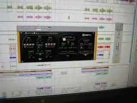 "Sound Toys ""EchoBoy"" software Part 1"
