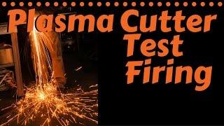 Eastwood Versa Cut 60 Plasma Cutter Test Firing