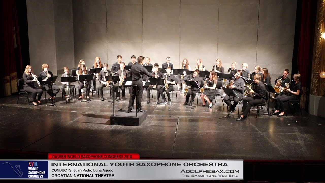 5   Youth Saxophone Orchestra   XVIII World Sax Congress 2018 #adolphesax