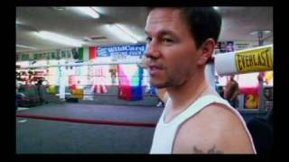 Mark Wahlberg and Manny Pacquiao in Wild Card Gym