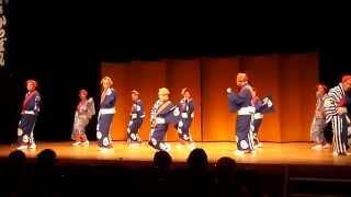 平成27年7月28日:奈良学園前ホール 宴芸「気楽座」・亀楽会発表会.