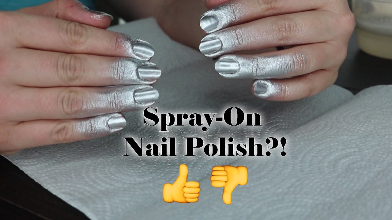 Does it work nails inc paint can spray on nail - Nails Inc Spray On Nail Polish Review Demo