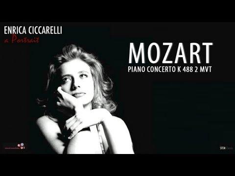 Mozart piano concerto K 488 - Enrica Ciccarelli