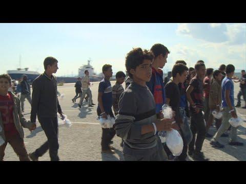 Crise migratoire: en Italie, de plus en plus de mineurs à prendre en charge
