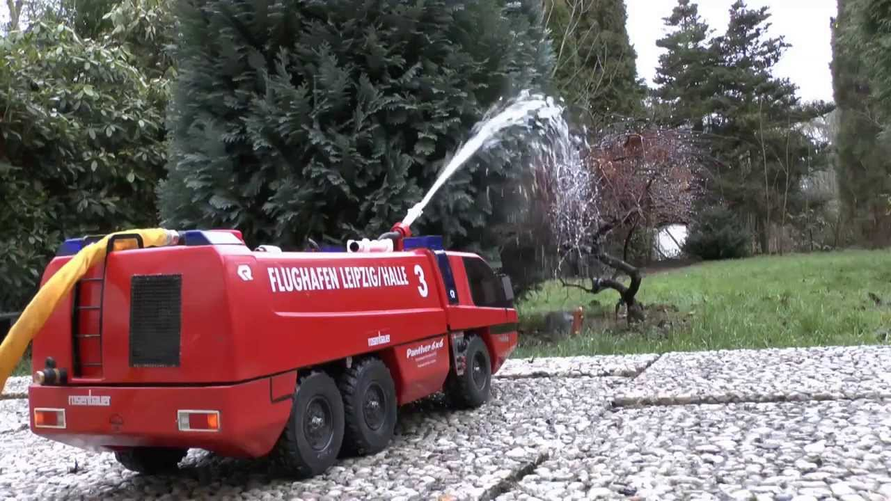 Rc Fire Truck Pump And Tank Test New Rc Pump 4 Bar