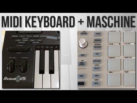 agganciare la tastiera MIDI a Maschine incontri signore dello Sri Lanka