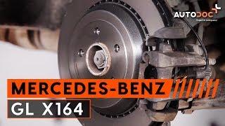 Montaje Pastilla de freno traseras y delanteras MERCEDES-BENZ GL: vídeo manual