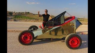 Midyatlı Bakkal Hayalindeki Yarış Arabasını Kendisi Yaptı