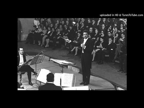 Mozart: Sinfonia Concertante K 297 B | Zubin Mehta | RAI Roma (25.1.1969)