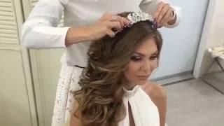 Как сделать греческую косу?(Как сделать греческую косу? Вы хотите узнать как сделать греческую косу, посмотрите это видео