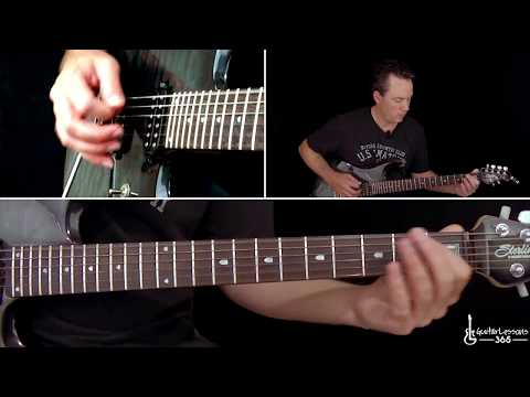 Guns N' Roses - Rocket Queen Guitar Lesson (Part 1)