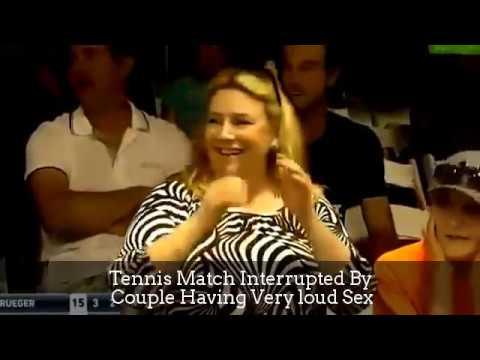 Los gritos de una pareja practicando sexo obligan a parar un partido de tenis