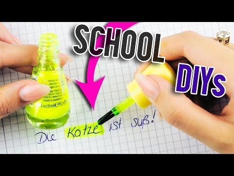 5 ABGEFAHRENE SCHOOL DIYS, die aussehen wie SCHMINKE + PRANKE DEINE FREUNDE