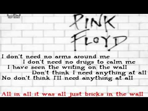 Pink Floyd Another Brick In The Wall All Parts