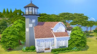Furnishing a Lighthouse in The Sims 4 (Streamed 3/18/19)