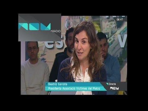 Canal 9 RTVV - Victimas Metro Valencia año 2006 - Entrevista a Beatriz Garrote Presidenta