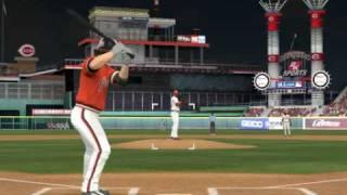 MLB 2K9 PC Gameplay SF@CIN (Giants vs Reds) 4 inning Top