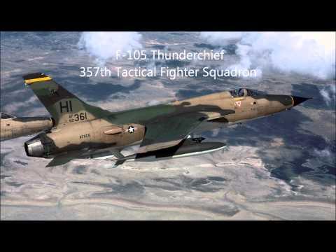 Audio Log: F-105 Wild Weasle in mission, Vietnam