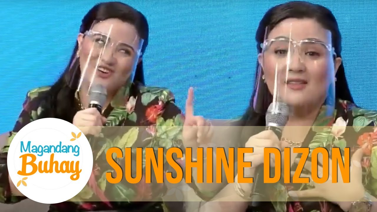 From whom did Sunshine learned how to slap? | Magandang Buhay