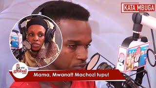 EXCLUSIVE: MAMA NA MWANAE WAMWAGA MACHOZI STUDIO, WALIPOTEZANA MUDA MREFU!
