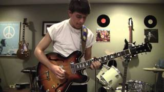 Dig A Pony Lead Guitar Cover