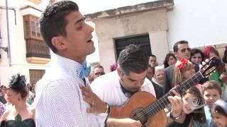 """""""El Make"""" le canta a los novios. 7.9.2014"""