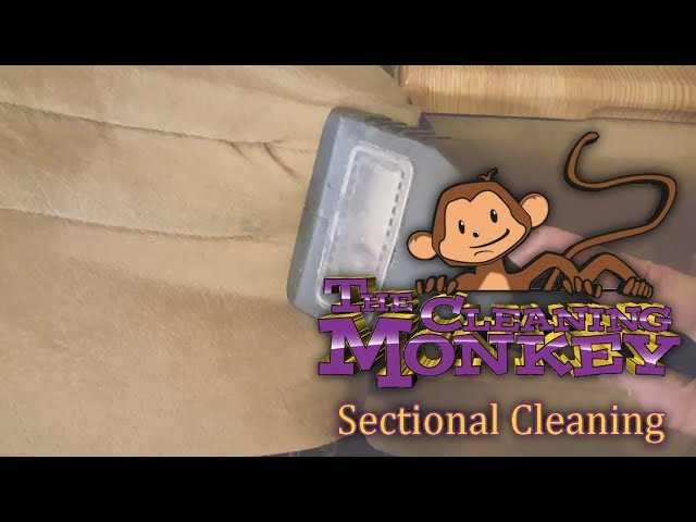 The Cleaning Monkey - Sectional Cleaning, Trouble Areas