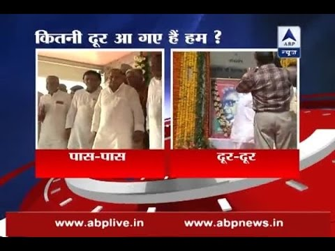 Watch how fight between UP CM Akhilesh Yadav, Mulayam Singh Yadav is quite obvious now