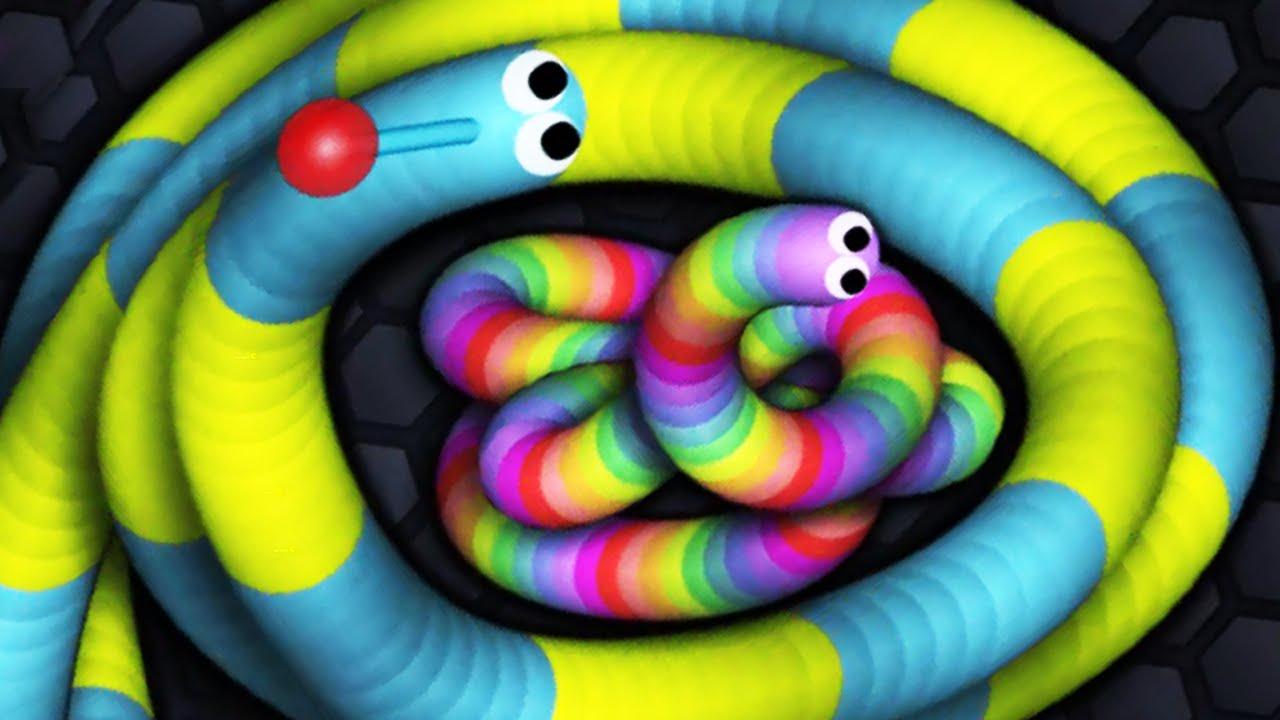 Slitherio 200000 Challenge Slitherio Giant Snake Killer YouTube