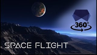 Relaxing 360 Space Flight - Space Engine - 4K
