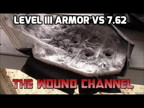 HighCom Level III Armor vs 7.62