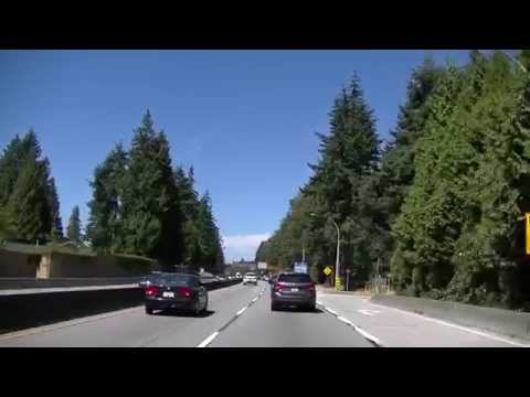 Driving to SQUAMISH British Columbia from Vancouver Canada - Sea to Sky Highway HD 2015