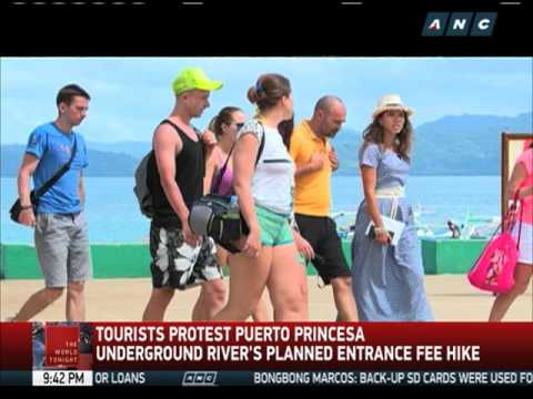 Tourists protest planned Puerto Princesa Underground River fee hike