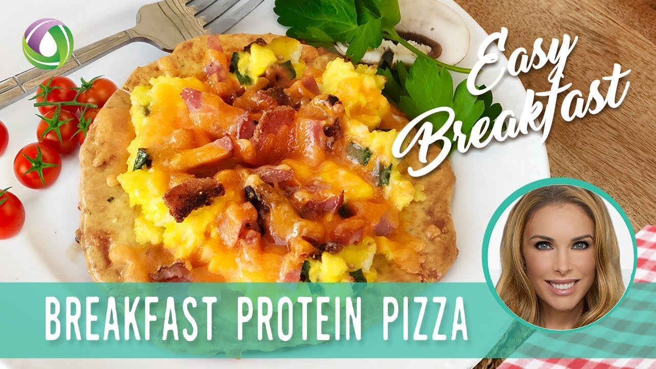 Easy Breakfast Pizza Recipe (Keto & Gluten-Free!)