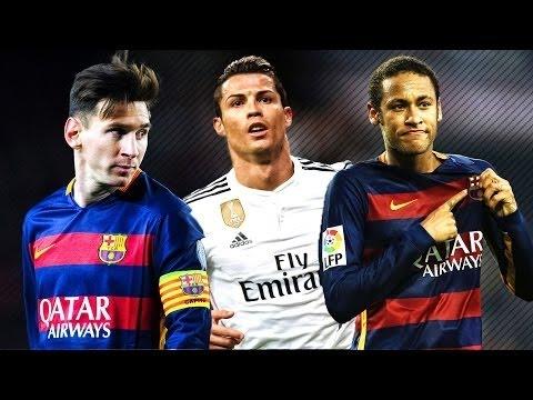 Lionel Messi vs Cristiano Ronaldo vs Neymar Ballon D'Or ...